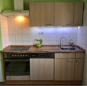 Einbauküche mit alle el Geräten