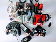 Diverse Controller und Joysticks Atari