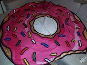 Strandtuch als Donut