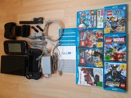 Wii U Konsole 32GB+Zubehör+Spiele