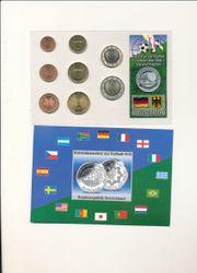 Kursmünzensatz Fussball WM 2006