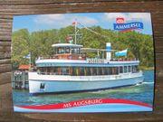 Ammersee Schiff MS Augsburg Bj