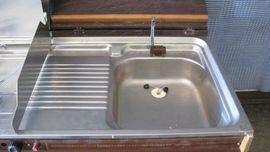 Küchenblock Küchenzeile Wohnmobil komplett 105: Kleinanzeigen aus Ranstadt - Rubrik Zubehör und Teile