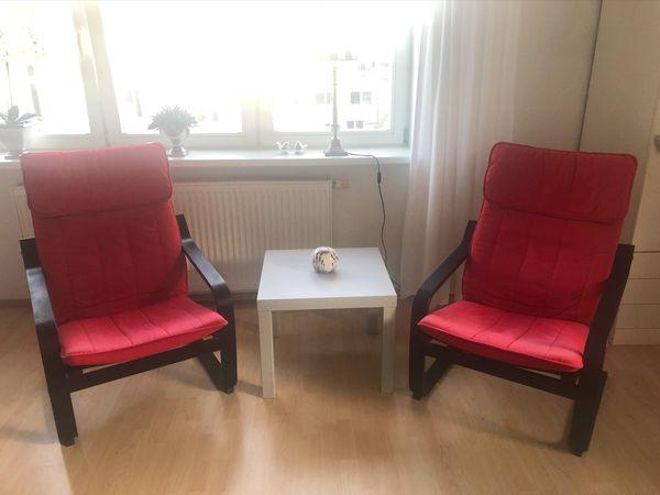 2 IKEA Sessel Poäng Schwingsessel