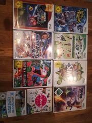Wii Spielkonsole und Spiele