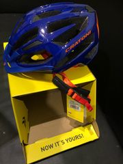 Fahrradhelm Cartoni Blue Orange Gr