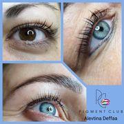 Wimpernlifting Augenbrauenlaminierung Lifting mit Keratin