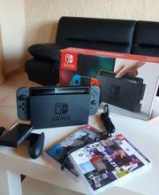 Nintendo Switch mit Zubehör und