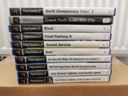 PS2 Sony Playstation 2 Spiele