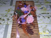 Zigarrenpresse Zigarrenform mit Blumengesteck 57