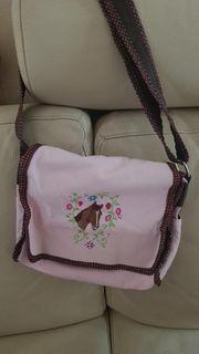 Kindergartentasche rose mit Pferd von