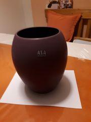 Vase von ASA lila neu