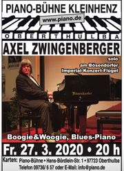 Axel Zwingenberger Boogie Woogie-Blues-Piano