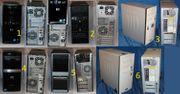 6 PC-Systeme P4- DualCore-QuadCore