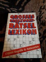 Grosses Kreuzworträtsel Lexikon