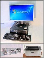 PC Komplettsystem Quad Core 4
