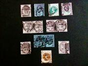 Alte Briefmarken England