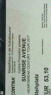 2x Ticket Sunrise