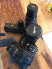 Canon EOS 350D incl Objective