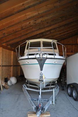 NIMBUS 2700 - STEYR M144 Vti TOP ausgerüstetes Motorboot Boot Boote