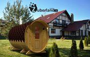 Fass-Sauna Länge 3 m Durchmesser
