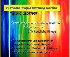 Glinde Deutschsprachige Seniorenbetreuung aus Polen 24h Haushaltshilfen für Familien
