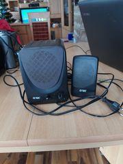 PC Lautsprecher Q-Tec schwarz