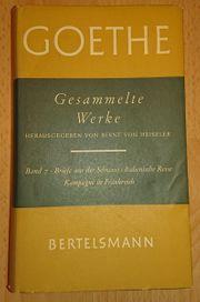 GOETHE - Gesammelte Werke - Band 7 -