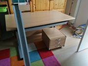 Schreibtisch von PAIDI mit Unterschrank
