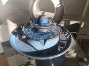 Keramik Tischbrunnen Pisa blau Zimmerbrunnen