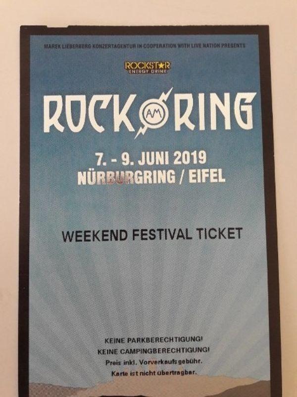Rock Am Ring Karte.2x Rock Am Ring Weekend Festival Ek 338 In Durmersheim