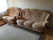 Sofa Sessel Garnitur Polster Couch