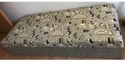Liegebett Federkern mit Bettkasten