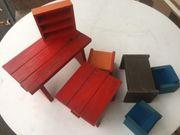 Holzpuppenmöbel