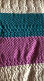 Handarbeit - Stricke oder häkele Decken - Weinsheim Ackvasche Mühle - Wolldecken in unterschiedlichen Größen und Mustern! Preis richtet sich nach Größe und Material der Wolle! - Weinsheim Ackvasche Mühle