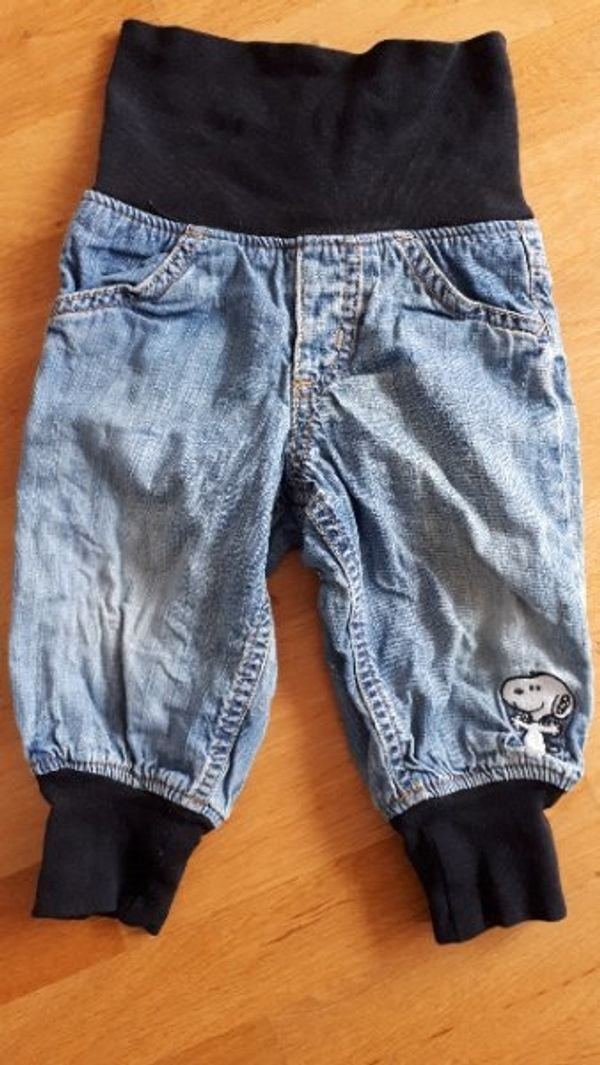 Snoopy leicht wärmende Jeans Größe
