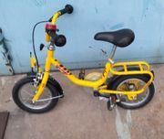klein kind lern fahrrad pucky