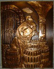 Kupferbild Küfer