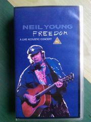 Neil Young Freedom VHS