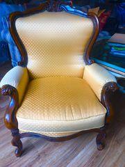 Sofa 3Sitzer mit Sessel