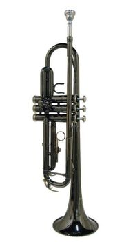 Bb - Trompete SE-1800-BC Chrom-Schwarz inkl