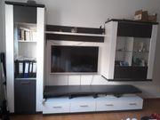 Moderne Wohnwand Manhatten Weiß Artic