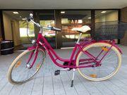 Fahrrad pink Marke Pegasus neuwertig