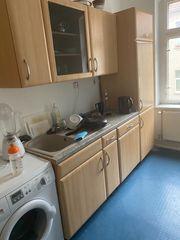 Küche inkl Kühlschrank Spülmaschine zu