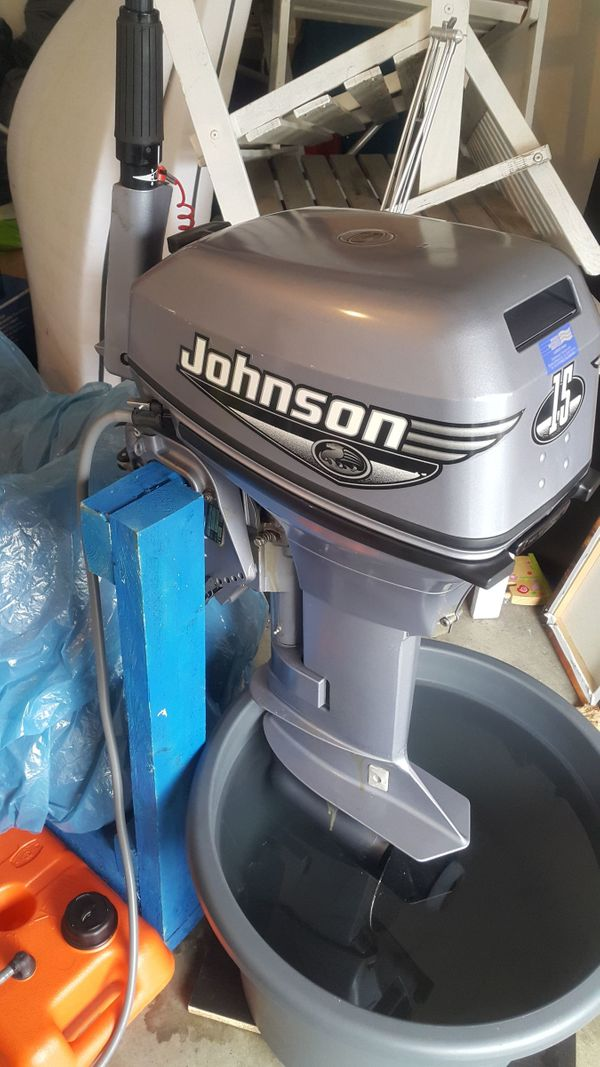 Johnson 15 PS Handstarter Kurzschaft