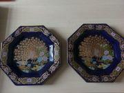 Dekor-Teller und Vase