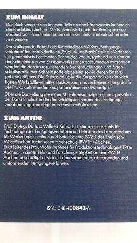 Fertigungsverfahren Band 1 Drehen Fräsen: Kleinanzeigen aus München Untergiesing-Harlaching - Rubrik Werkzeuge, Zubehör