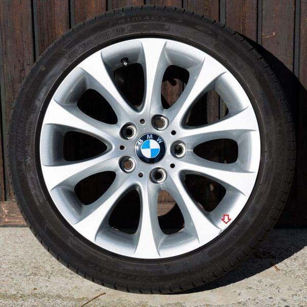 Orig BMW 17 Komplettradsatz mit