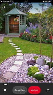 Gartenarbeiten - oder Gartenhelfer