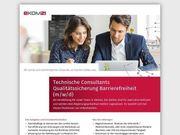 Technischer Consultant Qualitätssicherung Barrierefreiheit